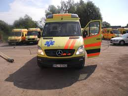 mercedes benz sprinter 316 ambulance with pensi 2000 stretchers