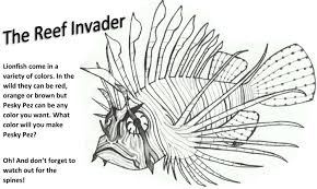 fish printable coloring pages funycoloring