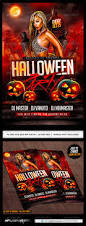 halloween party flyer template psd by industrykidz graphicriver