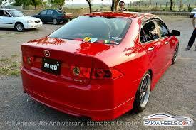 euro r honda accord cl7 2003 red cars pakwheels forums