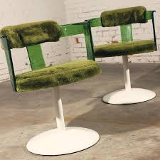 Mid Century Modern Furniture Virginia by Sold U2013 Green Lucite Mod Tulip Chairs By Daystrom Vintage Mid