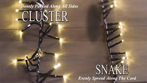 led garland christmas lights 73 8 foot christmas snake lights with 1000 warm white led garland