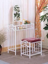 white metal vanity set home design mannahatta us