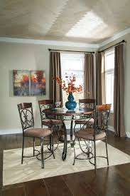 dining room ashley furniture height of dining room table counter chairs incredible home design