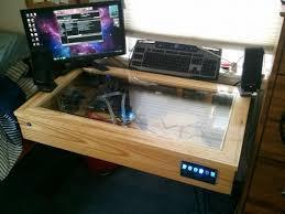 Custom Pc Desk Case Top Computer Case Desk On Custom Computer Case Desk Custom