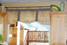 Ruffled Kitchen Curtains by Kitchen Ruffled Burlap Curtain Farmhouse Kitchen Valance By