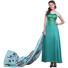 Queen Elsa Halloween Costume Compare Prices Snow Queen Elsa Custom Shopping Buy