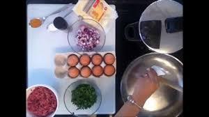 tunesische küche empfehlenswert rezept hackfleisch kartoffel tajine tunesische
