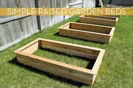 make it raised garden beds in under three hours curbly