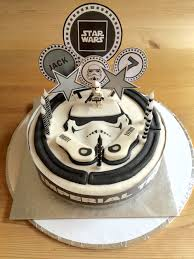 Star Wars Cake From Tesco For 10 Customised By Making Cake