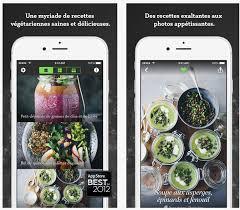 application recettes de cuisine dossier applications iphone et la cuisine équilibrée