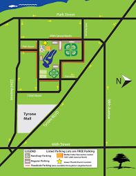 Map Of St Petersburg Florida by St Petersburg Green Thumb Festival Parking