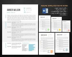 Easy Online Resume Builder by Easy To Read Resume Template