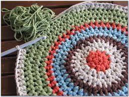 half circle rug crochet pattern rugs home decorating ideas