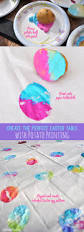 set the perfect easter table and have a easter egg potato printing