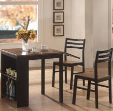 kitchen mesmerizing black single leaf square small kitchen table