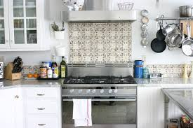 backsplash tile patterns kitchen eclectic with stainless steel