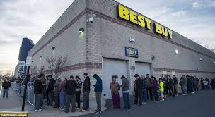 black friday 2015 sees thousands line up across the country for