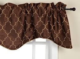 Valances Com Amazon Com Stylemaster Hudson 52 By 17 Inch Embroidered Lined