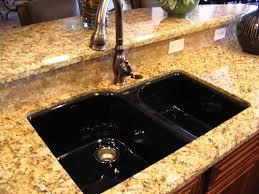 black kitchen sink an irresistible elegance