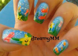 dreamy ocean nail art tutorial youtube
