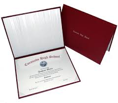 diploma cover high school diploma printing diploma covers