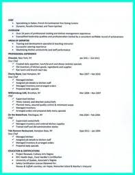 Chef Job Description Resume by Sous Chef Resume Example Resume Examples And Life Hacks