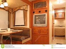 Motor Home Interiors Inside A Motor Home Royalty Free Stock Photo Image 632875