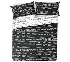 buy home sticks black and white bedding set double at argos co