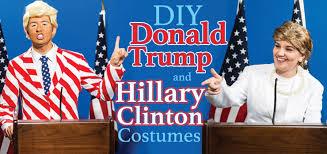Donald Trump Halloween Costume Diy Donald Trump Hillary Clinton Costumes Halloween Costumes