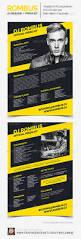 Dj Resume Resume Cv Cover Letter by Rombus Dj Resume Press Kit Psd Template Psd Templates Press