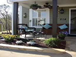 Front Patio Design Front Porch Ideas Style For Ranch Home