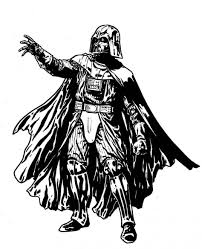 coloring pages darth vader pages portrait snapsite