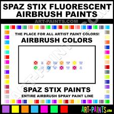 spaz stix fluorescent airbrush spray paint colors spaz stix