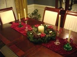 Easy Table Decoration For Christmas by Easy Christmas Dining Table Decoration
