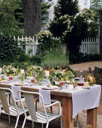 outdoor table ideas summer centerpieces for entertaining martha stewart