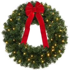 best 25 battery operated wreath ideas on
