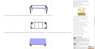 free plans to build a west elm inspired boerum dining table and