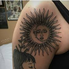 40 exclusive sun tattoos that are delightfully gracious and