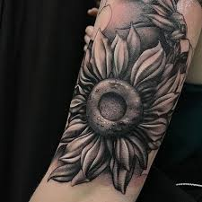 sunflower tattoo meaning and best design ideas