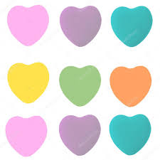 conversation heart sayings conversation heart shapes template stock photo stayceeo 8547487