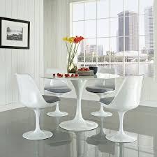 eero saarinen style tulip dining set