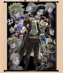bizarre home decor 8 12 home decor japanese jojo s bizarre adventure anime wall poster
