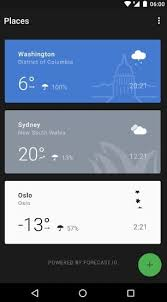 best android weather widget top 8 best weather widgets for android with lesser battery drains