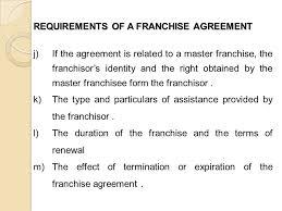 sample franchise agreements hitecauto us