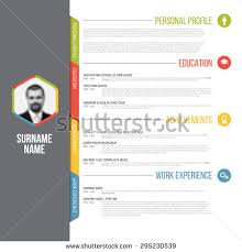 free curriculum vitae vector template download free vector art