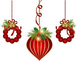 transparent red christmas ornaments png clipart clipart best