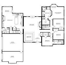 villa home plans afton villa 2760 square ranch floor plan