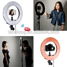 circle light for video led ring round light dimmable dimmer dim adjustable camera photo