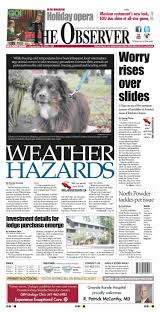 Elgin Oregon Wildfire by The Observer Paper 12 9 15 By Northeast Oregon News Issuu